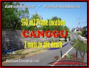 INVESTASI PROPERTI, DIJUAL MURAH TANAH di CANGGU TJCG159