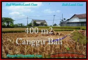 DIJUAL MURAH TANAH di CANGGU BALI 400 m2 di Canggu Pererenan