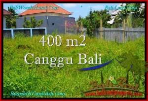 TANAH MURAH di CANGGU BALI DIJUAL 400 m2 Lingkungan villa