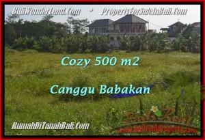 TANAH DIJUAL di CANGGU BALI 500 m2 di Canggu Batu Bolong